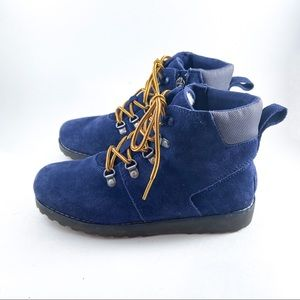 UGG Hilmar Suede Cold Weather Boot for Kids - Navy
